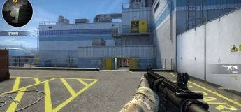 Voici le rendu de Counter Strike en VR