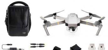 DJI Mavic Pro Platinum, le pack complet du drone à -de 1000 €