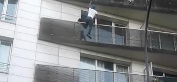 Paris 18e : Un sans-papier escalade 4 étages et sauve un enfant qui allait tomber