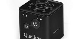 Quelima SQ13, une caméra de voiture / action à 17,19 €