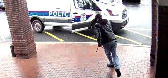 Cet homme stoppe un homme armé, pourchassé par la police