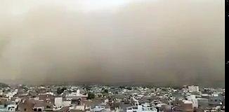 La tempête de sable meurtrière qui a causé la mort de + de 116 personnes en Inde