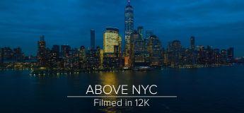 Les images 12K d'un vol au dessus de New York