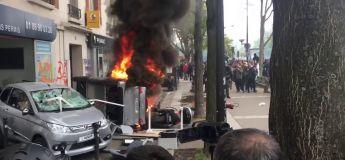 Les violentes images des saccages lors du défilé du 1er mai par les «Black Blocs»