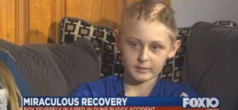 Un garçon de 13 ans sort miraculeusement du coma alors que ses parents ont donné ses organes