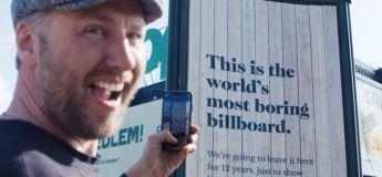 La campagne publicitaire la plus longue et la plus ennuyeuse du monde