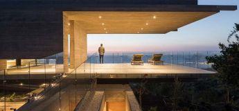 Une mise à l'honneur du béton grâce à une habitation créée par un architecte chilien