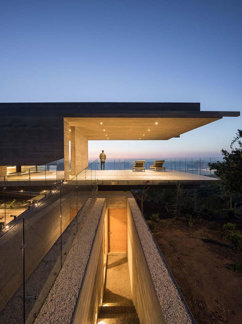 Une mise l honneur du b ton gr ce une habitation cr e - Un architecte ...