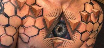 Des tatouage tellement incroyables qu'on en croirait des faux