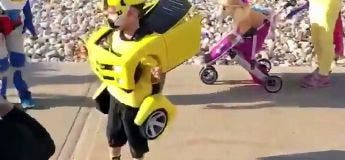 Vous allez être jaloux des costumes Transformers de ces 3 enfants