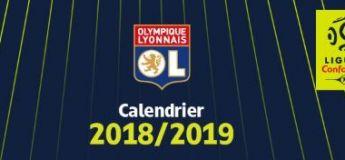 Le calendrier officiel de matchs de Ligue 1 saison 2018-2019
