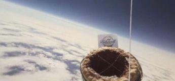 Une tarte Bakewell s'est envolée dans l'espace !