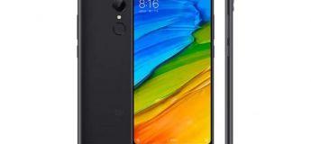 Le Xiaomi Redmi 5 à 107.82 €