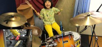 A 8 ans, Yoyoka réalise une perf' énorme à la batterie sur «Good Times Bad Times» de Led Zeppelin