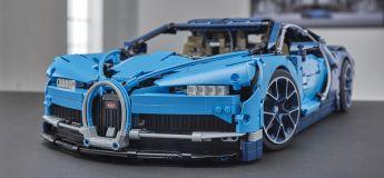 Le kit Bugatti Chiron Lego Technic 2018 incroyablement détaillé