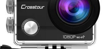 La caméra Sport Crosstour 1080p à 29,72 € au lieu de 150,47 €