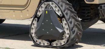 Des roues DARPA reconfigurables passent aux roues chenilles en deux secondes