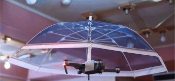 Un drone parapluie, une idée ingénieuse pour libérer vos mains