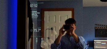 Il crée un miroir Alexa super cool (regardez le tuto)