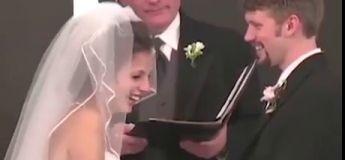 Le fou rire de cette futur mariée est communicatif