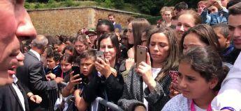 Macron remet à sa place un ado qui l'avait appelé «Manu»