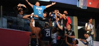Doigts d'honneur, malaise… à ce rythme là, Maradona sera mort samedi