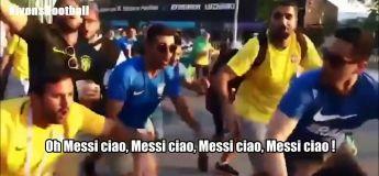 «Messi Ciao», le remix de Bella Ciao des supporters Brésiliens qui se moquent de leur voisins Argentins