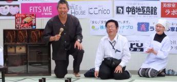 Le concours de renversement de table s'est déroulé au Japon