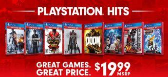 La sélection des meilleurs jeux PS4 réunit dans la gamme PlayStation Hits