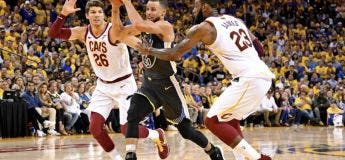 Large résumé Cleveland Cavaliers vs Golden State Warriors – Game 2 Finales NBA 2018