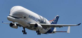 L'Airbus Beluga XL, surnommé « la baleine dans le ciel », prend son envol pour la première fois