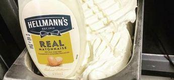 La glace à la mayonnaise existe, et elle refroidit plutôt les internautes !
