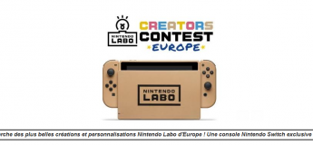 Concours de Créations Nintendo Labo européen