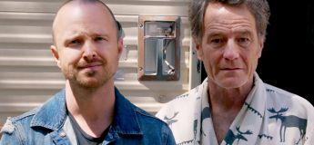 Aaron Paul découvre que Bryan Cranston vit dans le Camping Car de Breaking Bad
