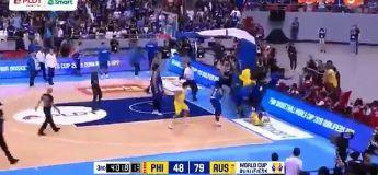 Basket : la bagarre générale de l'année entre les Philippines et l'Australie