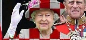 Pas vu à la TV : Quand les Anglais ont essayé de marquer contre les Croates durant leur célébration