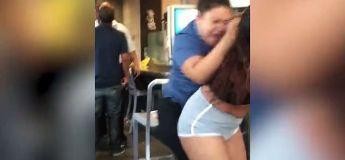 Grosse bagarre dans un McDo entre une cliente et une serveuse
