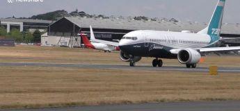 Incroyable décollage quasi vertical d'un Boeing 737 MAX 7