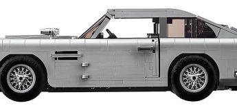 LEGO dévoile sa nouvelle production avec la fameuse voiture DB5 de James Bond