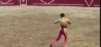 Le torero Juan José Padilla se fait scalper par la corne du taureau (vidéo)