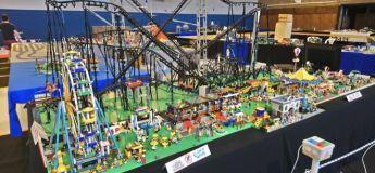 Ce Douaisien réalise des montagnes russes exceptionnelles en LEGO