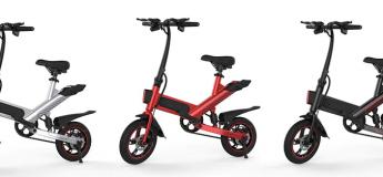 Le vélo électrique intelligent et pliable Guangya Y1 en super promo à 411,84 €
