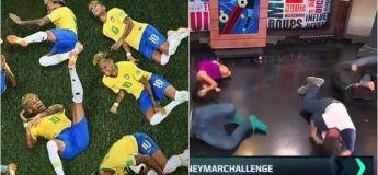 Le défi Neymar ou  #NeymarChallenge : la dernière tendance mondiale