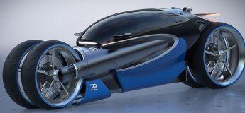 La nouvelle moto futuriste 100 M de la marque Bugatti par un talentueux designer