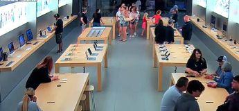 Sans opposition, ces voleurs dérobent en quelques secondes pour 27.000 euros de matériel dans un Apple Store