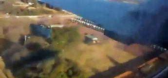 Vidéo d'un crash d'un avion filmé de l'intérieur
