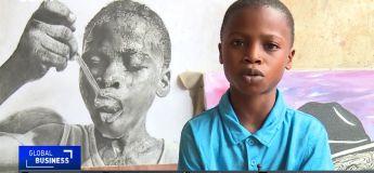 Waris Kareem, dessinateur prodige Nigérian de 11 ans