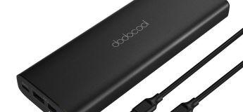 La batterie externe dodocool 45W USB-C 20100 mAh à 35,99€ au lieu de 52,99€
