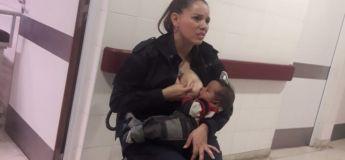 La policière argentine qui a allaité un nouveau-né abandonné a été promue sergent