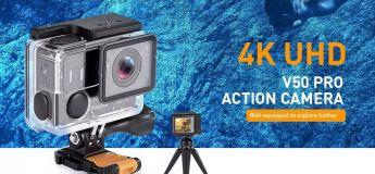 Eken Alfawise V50 Pro, la caméra d'action avec contrôle à distance par Wifi à – de 60 €